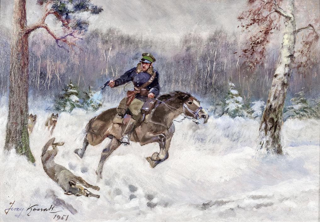 Ucieczka przed wilkami, 1951 r.