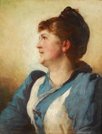 Portret kobiety, 1891 r.
