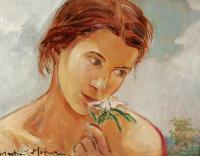 Kwiat głogu, ok. 1920 r.
