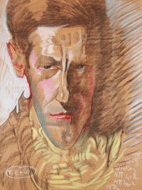Portret męski, IV 1929 r.