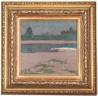 Przy brzegu, 1911 r.