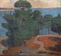 Sosny nad morzem, 1917 r.