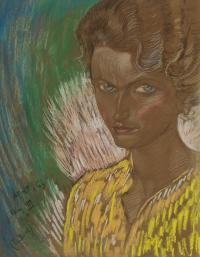 Portret Marii Wilczek, 1934 r.