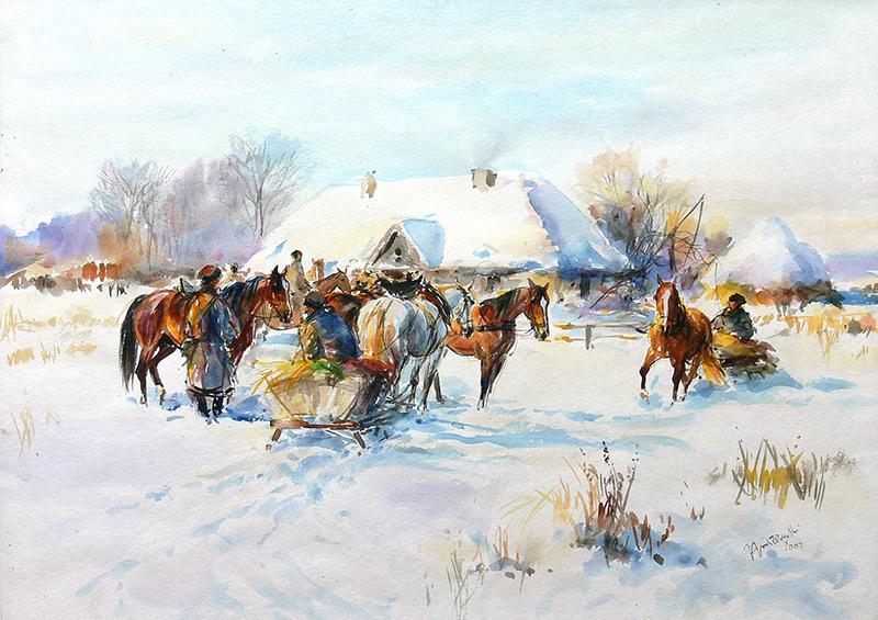 Zimą, 2002 r.