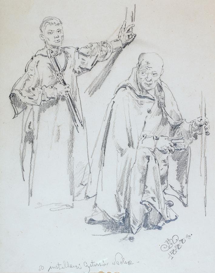 Do instalacji Cystersów w Polsce, 1888 r.