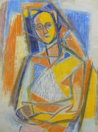 Portret kubistyczny, 1952 r.