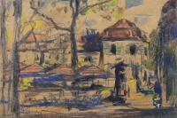 Paryskie stragany, 1928 r.