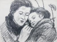 Matka z dzieckiem, 1911 r.