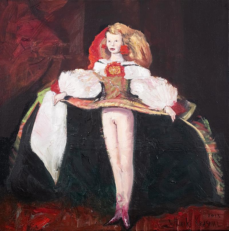 A macie piękno w sztuce! / Infantka Małgorzata / Tribute to Diego Velasquez, 2013