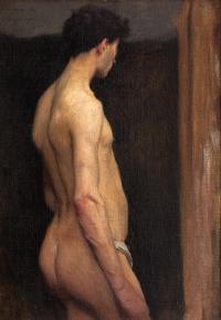 Akt męski, 1908 r.