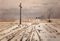 Przydrożny krzyż, 1907 r.