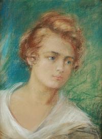 Portret kobiety (Janina Zaremba Rychalska)