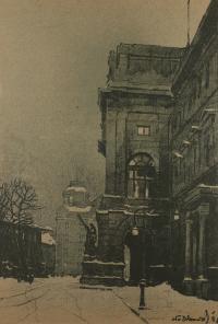 Uniwersytet we Lwowie, 1915 r.