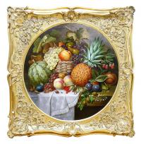 Martwa natura z ananasem, 1854 r.