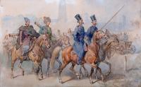 Czterech Kozaków w pochodzie, 1898 r.