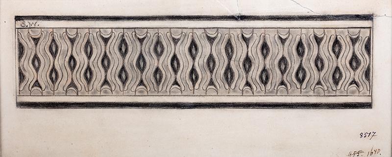 Motyw ornamentalny (1), ok. 1896 r.