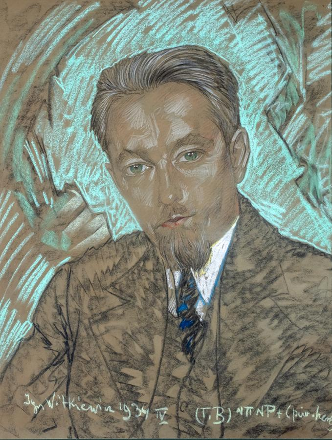 Portret męski, między 7 a 20 IV 1934 r.