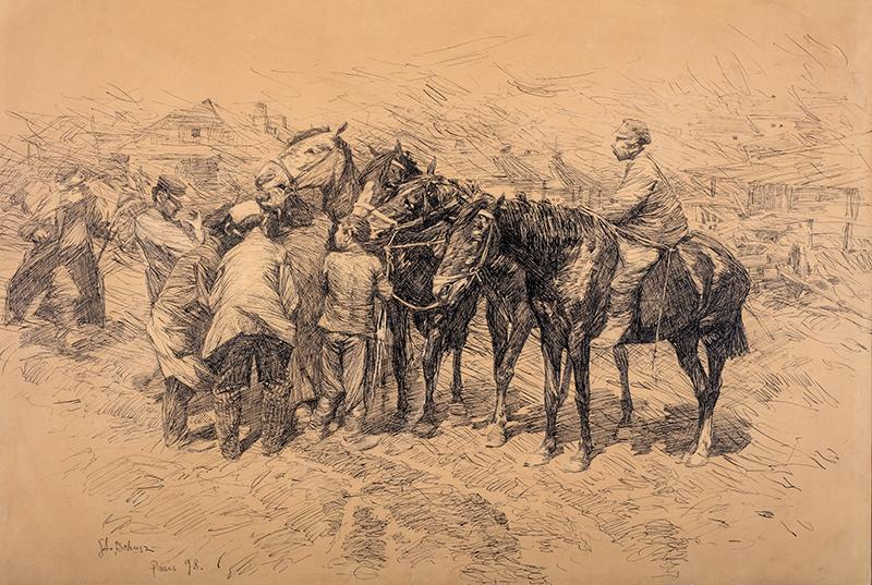 Jarmark,  1898 r.