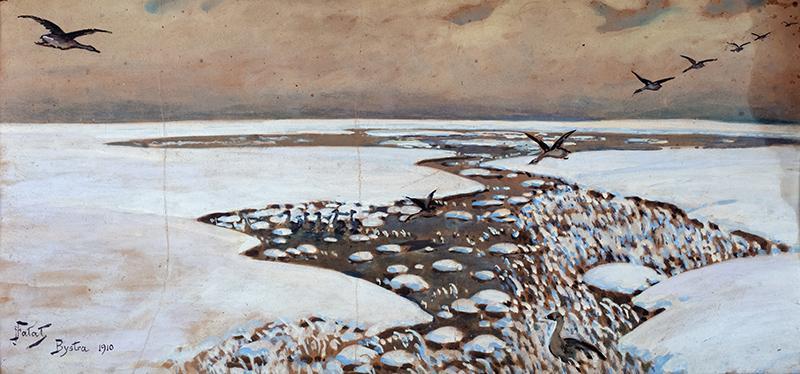 Zima, 1910 r.