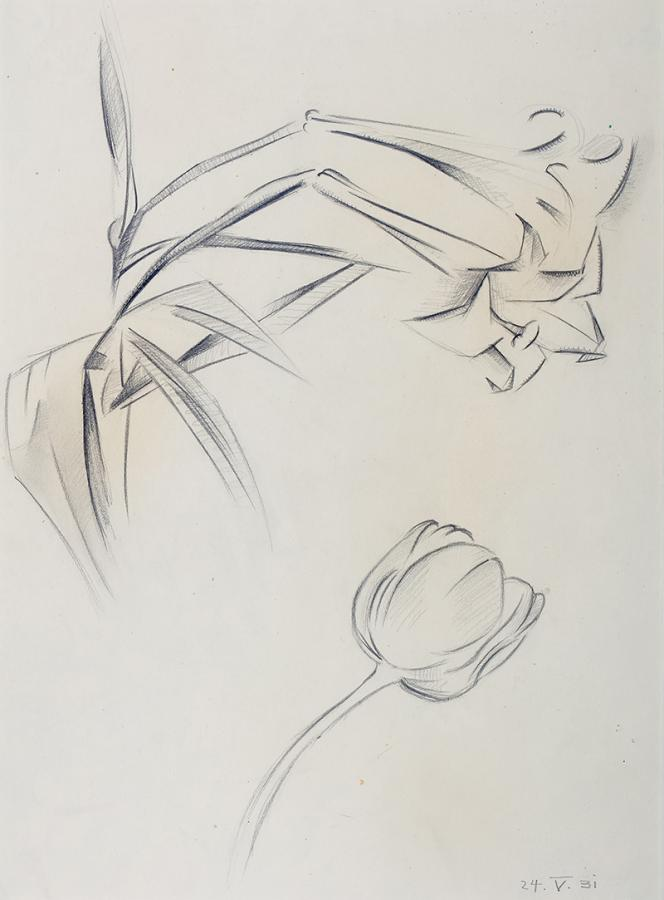 Kwiaty, 1931 r.