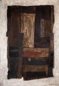 Obraz R-p-f, 1970 r