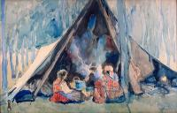 Biwak cygański, 1923 r.