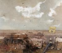 Obraz 1747 (Andenken von Lagow - 6), 1994