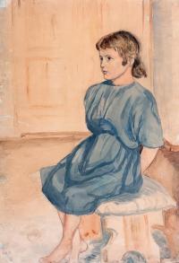 Portret dziewczynki, 1926 r.