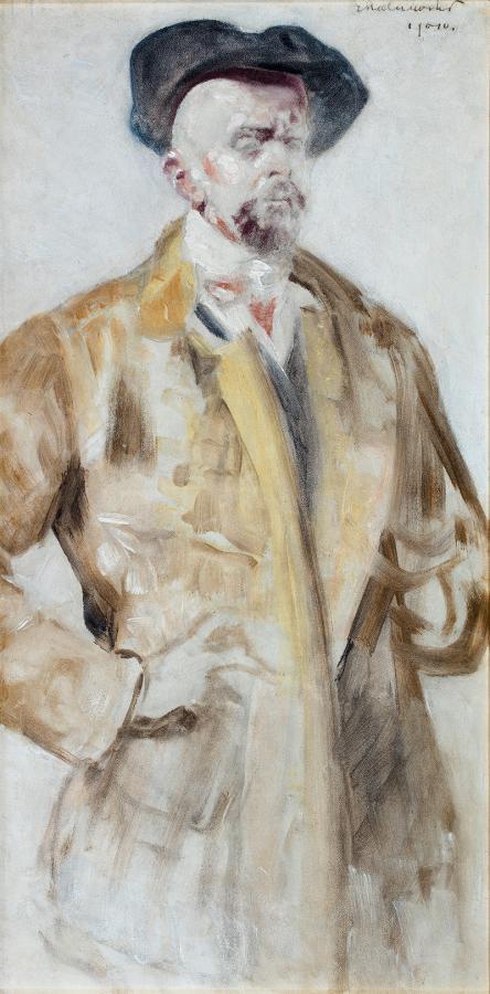 Autoportret, 1901 r.