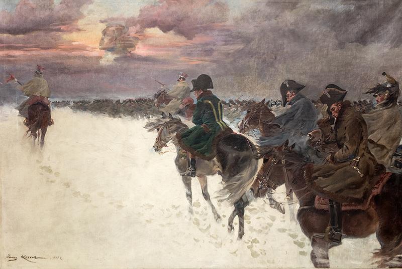 Wizja Napoleona w odwrocie spod Moskwy, 1921 r.