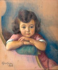 Portret dziewczynki, 1922 r.