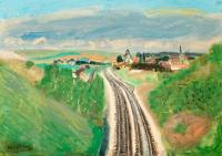 Linia kolejowa w Mareuil-sur- Ourcq