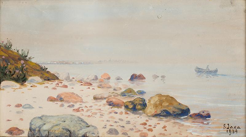W zatoce, 1934 r.