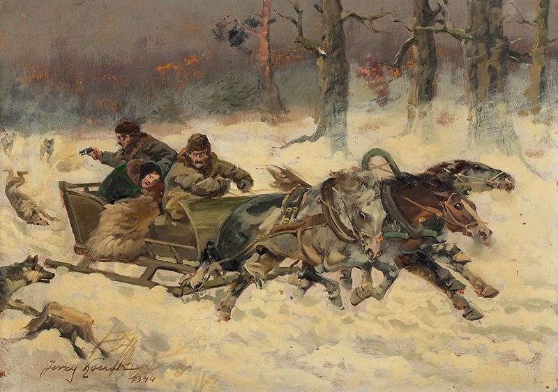 Napad wilków, 1944 r.