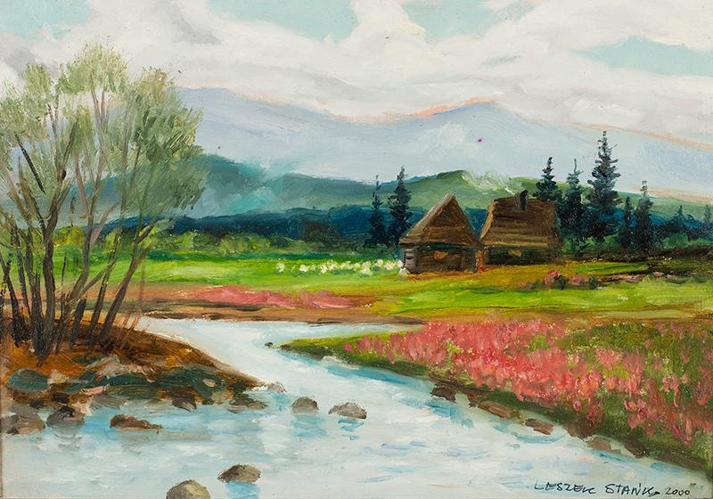 Potok górski, 2000 r.