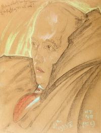 Portret pianisty Goreckiego, 2 poł. V 1933 r.
