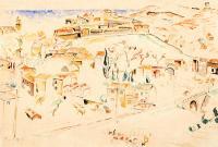 Pejzaż z Villeneuve-les-Avignon