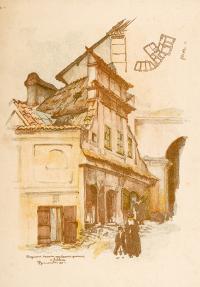 Fragment bazaru przy bramie godzkiej w Lublinie