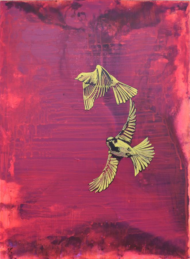 Ptasie figle II, 2016