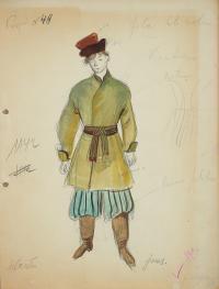 Projekt kostiumu męskiego