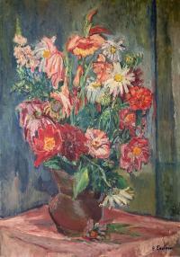Martwa natura z kwiatami