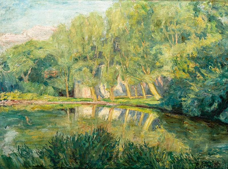 Staw, przed 1913 r.