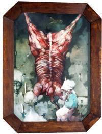 Obraz 1318 - Trumienny czyli adoracja o zmierzchu, 1989