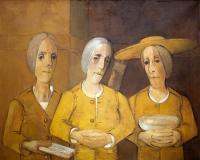 Trzy kobiety w tonacji żółtej, 1994