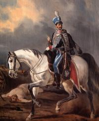 Oficer 13 Pułku Huzarów Księstwa Warszawskiego