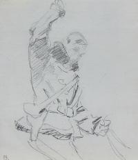 Jeździec – karta ze szkicownika