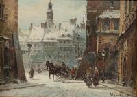 Widok na rynek Starego Miasta od ul. Nowomiejskiej
