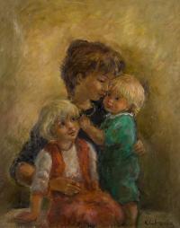 Matka z dziećmi