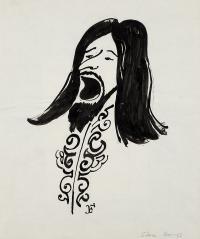 Karykatura Stana Borysa