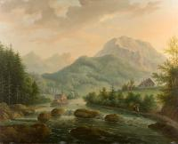 Nad potokiem, 1840 r.